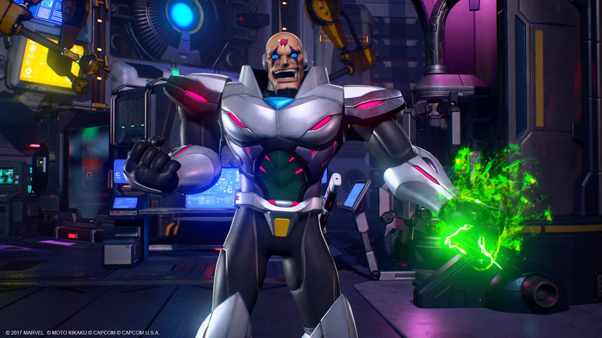 Marvel vs  Capcom: Infinite - Sigma