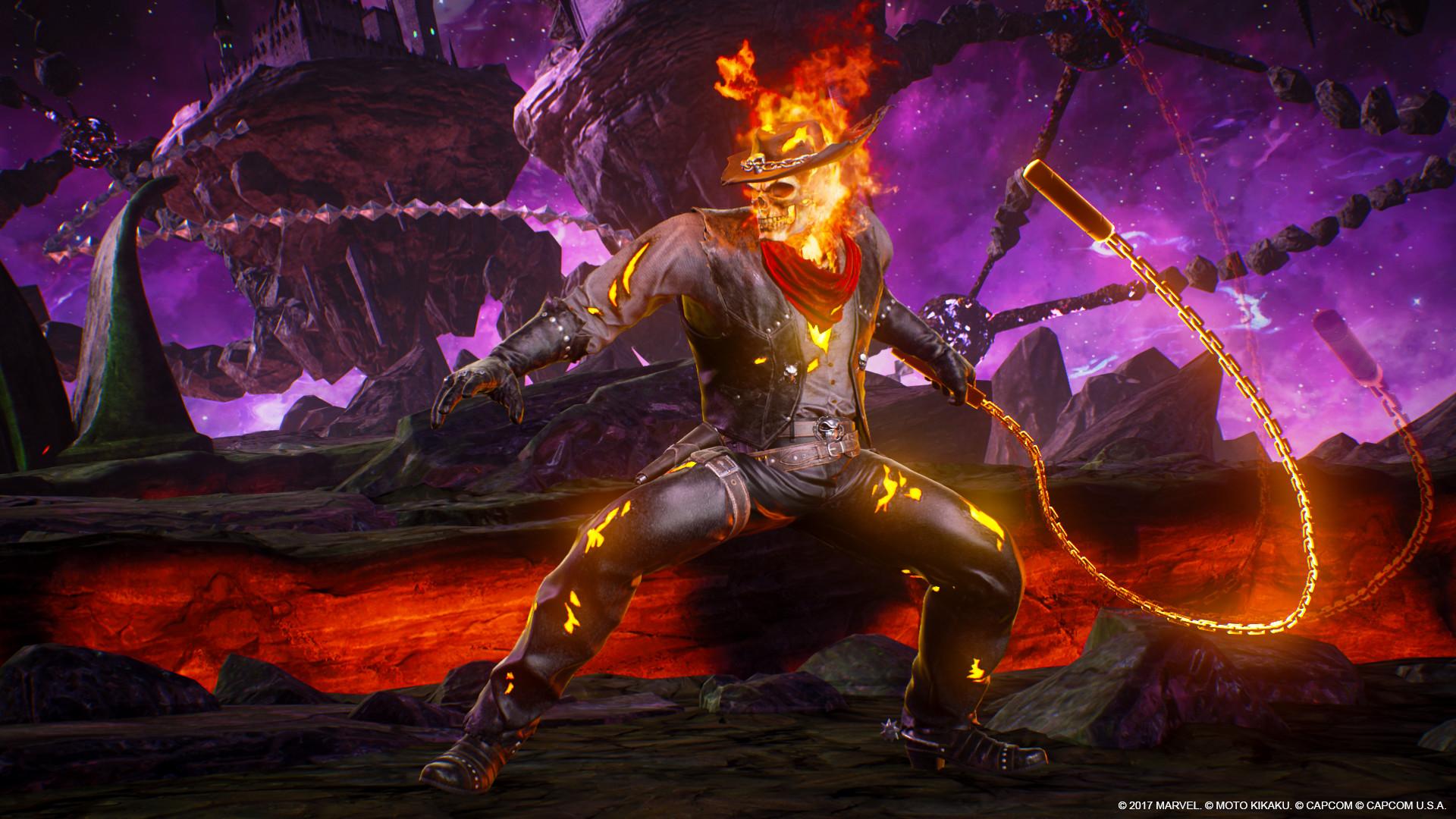 Marvel vs  Capcom: Infinite - Ghost Rider Outlaw Costume