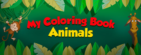 My Coloring Book: Animals - 我的上色书:动物