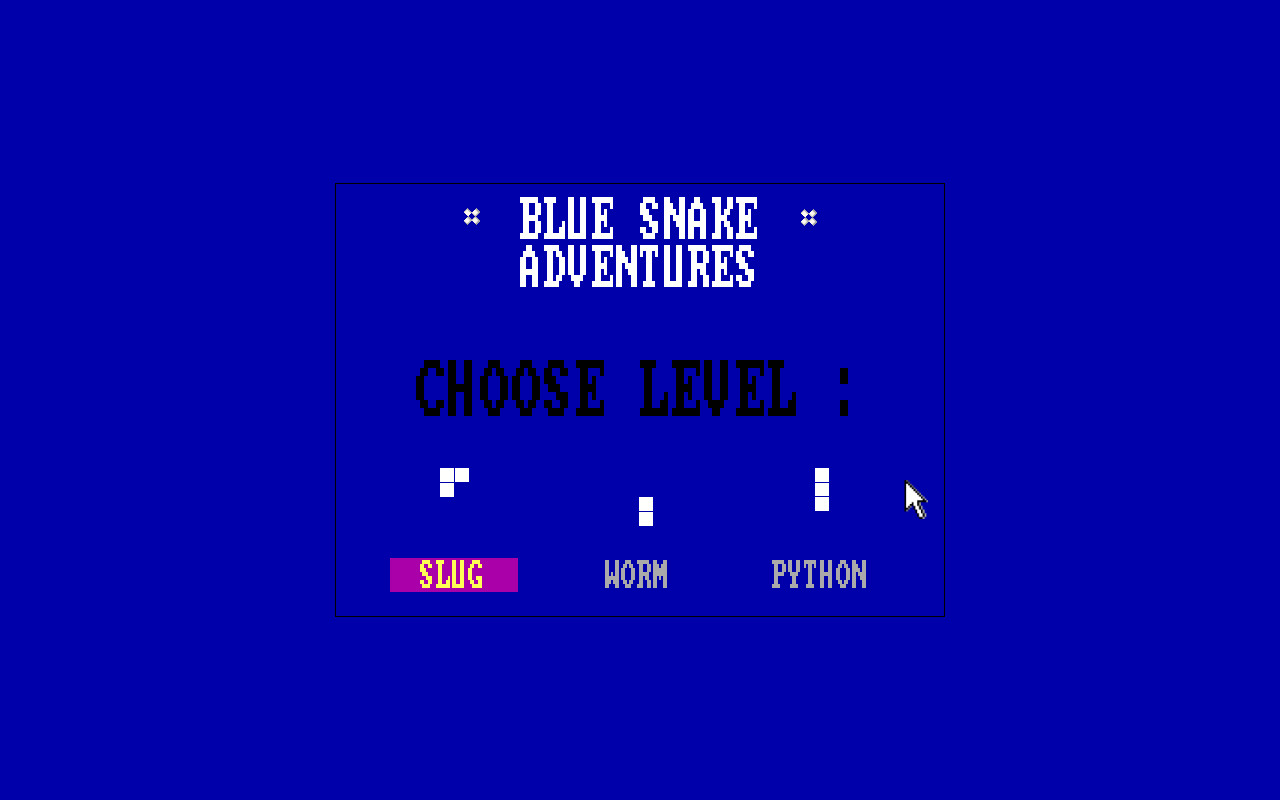 What's On Steam - Blue Snake Adventures