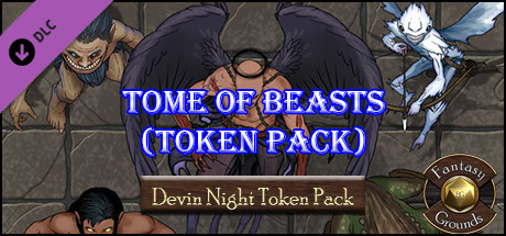 Fantasy Grounds - Tome of Beasts Pack 1 (Token Pack)
