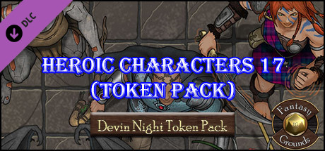 Fantasy Grounds - Heroic Characters 17 (Token Pack)
