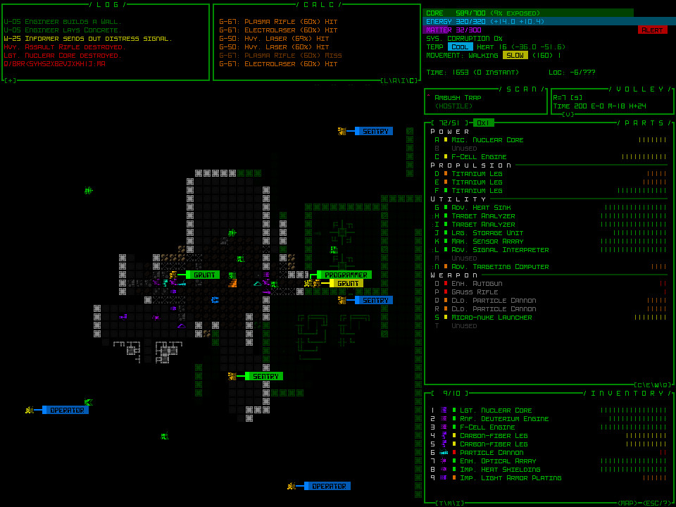 Cogmind Screenshot 3