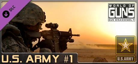 World of Guns: US Army Guns Pack #1