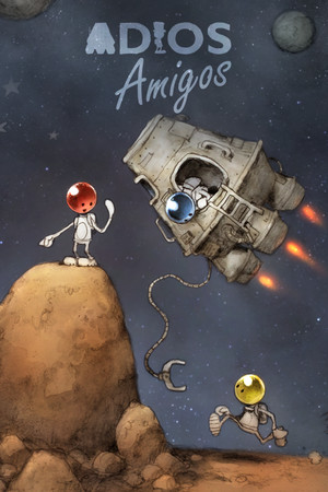 ADIOS Amigos: A Space Physics Odyssey poster image on Steam Backlog