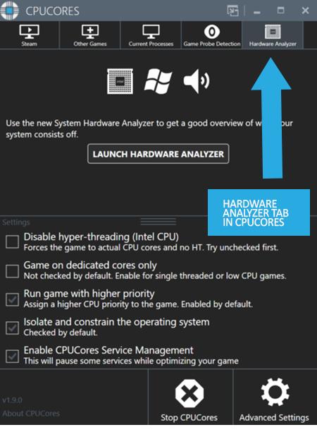 CPUCores :: System Hardware Analyzer