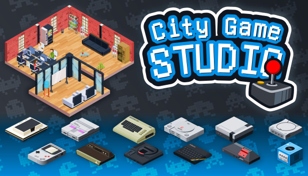 City Game Studio: a tycoon about game dev on Steam