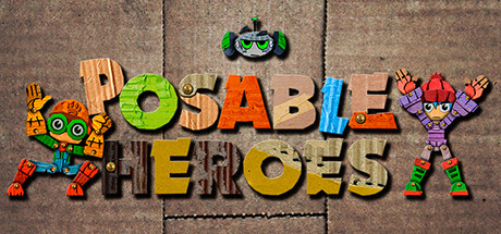 Posable Heroes cover art
