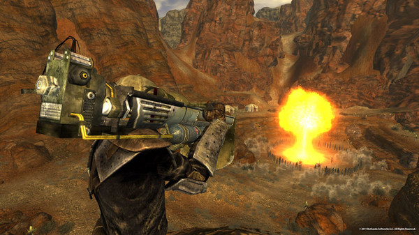 скриншот Fallout New Vegas: Gun Runners' Arsenal 3
