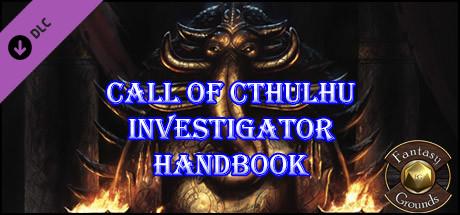 Fantasy Grounds - Investigator Handbook (CoC7E)