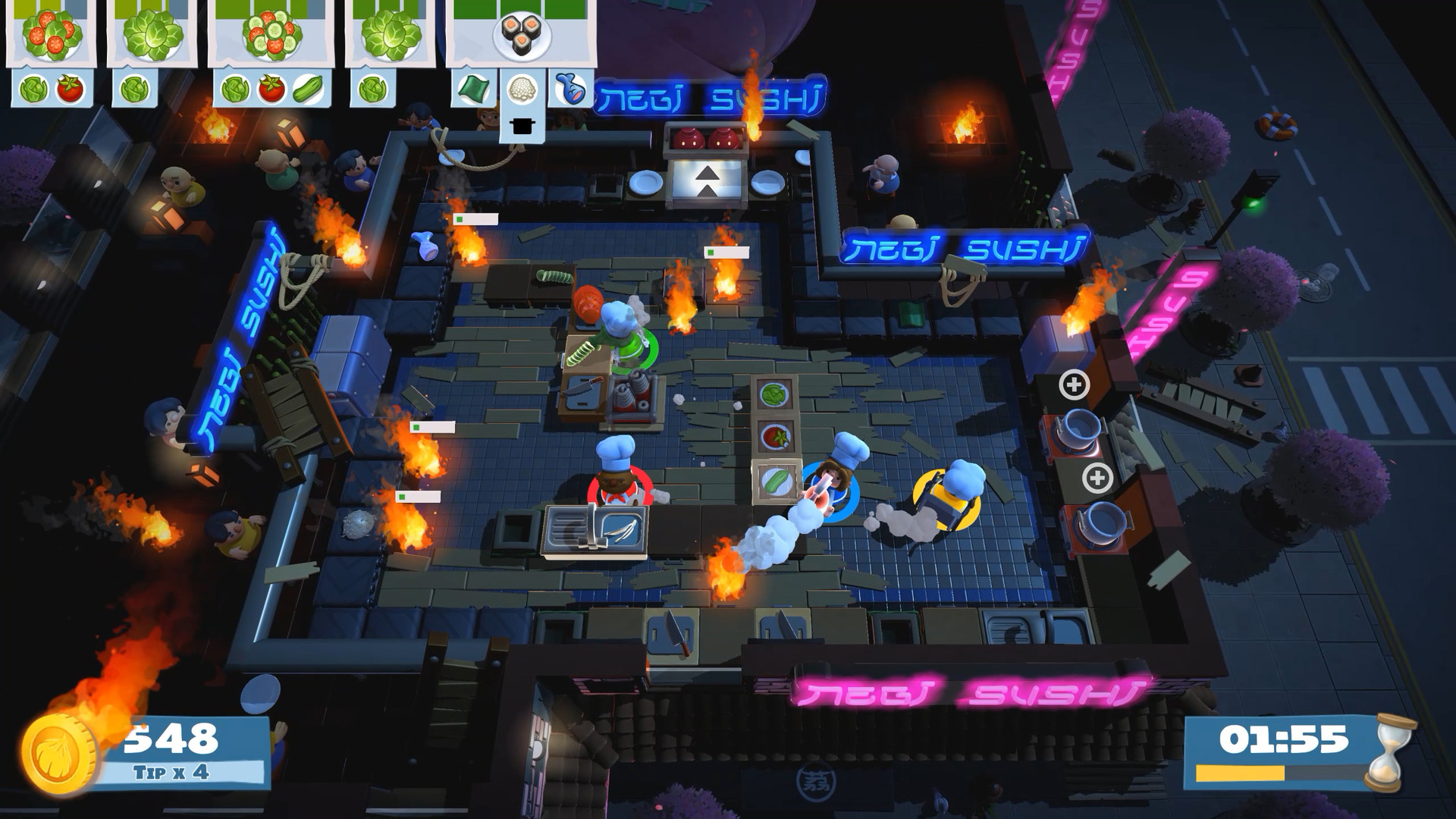 Overcooked 2 Download PC Game