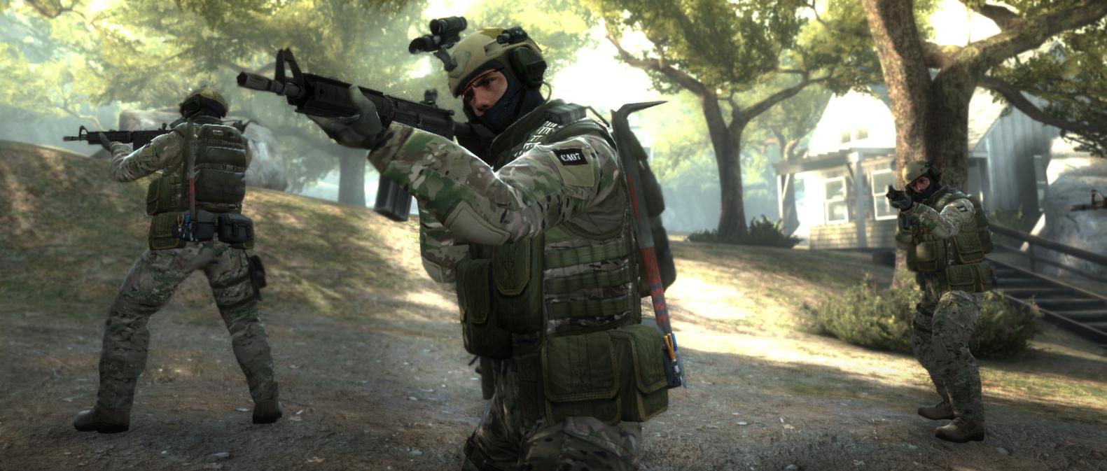 Screenshot of Counter Strike: Global Offensive (128 Tick) server hosting