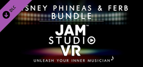 Jam Studio VR - Disney Phineas and Ferb Bundle