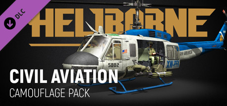Heliborne - Civil Aviation Camouflage Pack