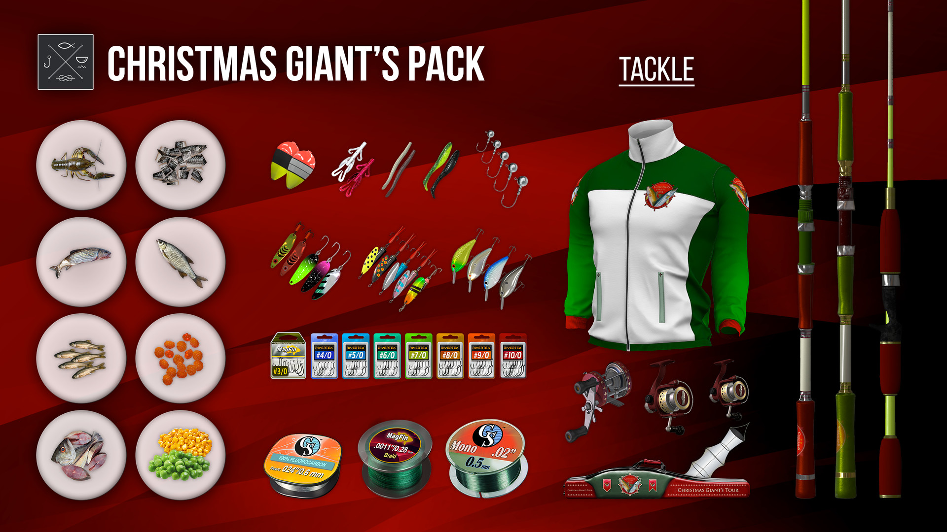 Fishing Planet: Christmas Giant's Pack on Steam