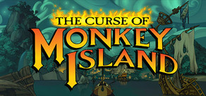 The Curse of Monkey Island cover art