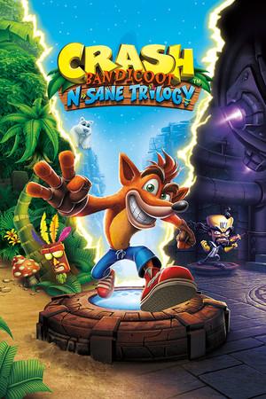Crash Bandicoot N. Sane Trilogy poster image on Steam Backlog