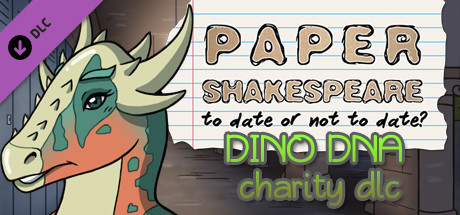 Paper Shakespeare, Charity Outfit Pack: Dino DNA