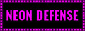 Neon Defense 1 : Pink Power-game