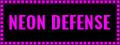 Neon Defense 1 : Pink Power Screenshot Gameplay
