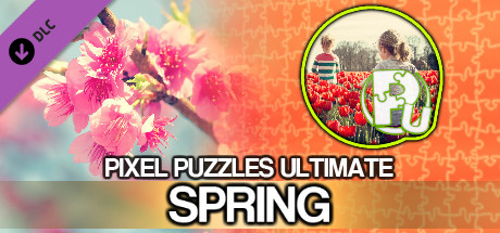Jigsaw Puzzle Pack - Pixel Puzzles Ultimate: Spring