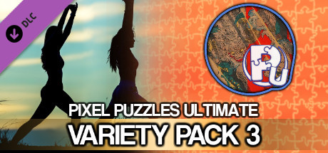 Pixel Puzzles Ultimate - Puzzle Pack: Variety Pack 3