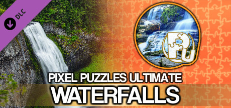 Jigsaw Puzzle Pack - Pixel Puzzles Ultimate: Waterfalls