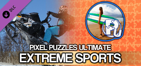 Jigsaw Puzzle Pack - Pixel Puzzles Ultimate: Extreme Sports
