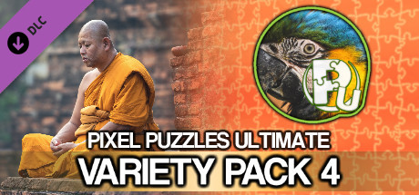 Pixel Puzzles Ultimate - Puzzle Pack: Variety Pack 4
