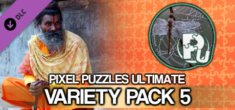 Jigsaw Puzzle Pack - Pixel Puzzles Ultimate: Variety Pack 5