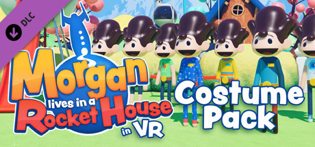 "Morgan lives in a Rocket House in VR - ""Tip Jar"" Costume Pack"