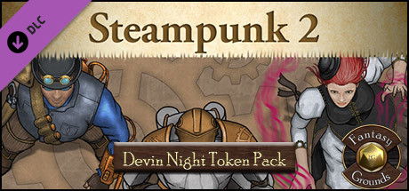 Fantasy Grounds - Devin Night Pack 77: Steampunk 2 (Token Pack)