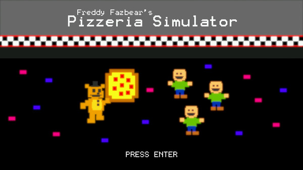 Screenshot of Freddy Fazbear's Pizzeria Simulator