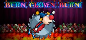 Burn, Clown, Burn! cover art