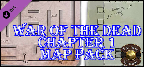 Fantasy Grounds - War of the Dead - Chapter 1 (Map Pack)