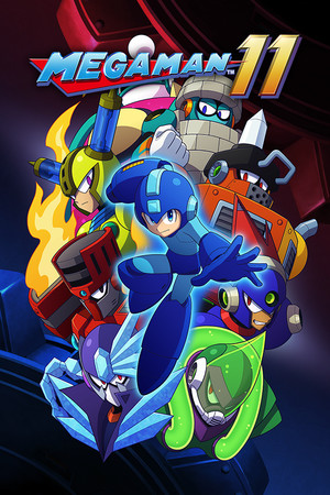 Mega Man 11 poster image on Steam Backlog
