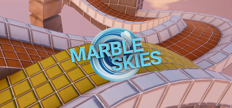Marble Skies is a fast paced 3D-platformer where you control your marble  through various levels and try to get the best time for each one.