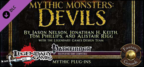 Fantasy Grounds - Mythic Monsters #11: Devils (PFRPG) on Steam