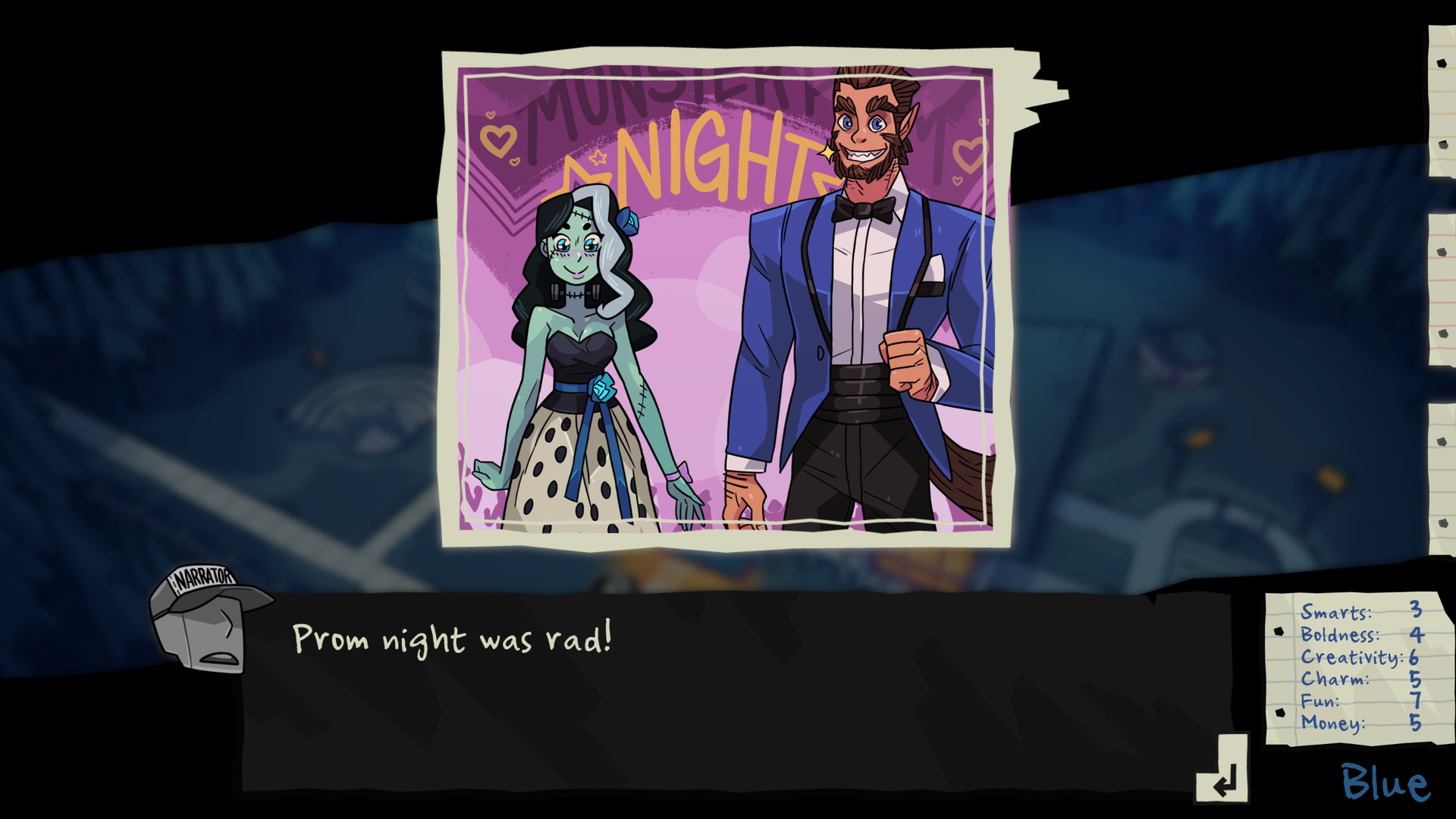 Monster high dating sim online