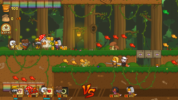 Screenshot of StrikeForce Kitty