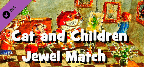 JotMW: Cat and Children Jewel Match