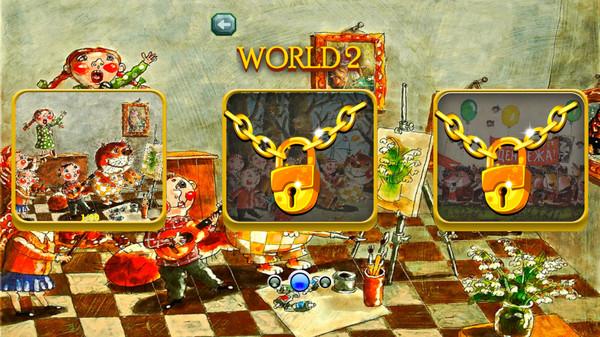 Скриншот из JotMW: Cat and Children Jewel Match