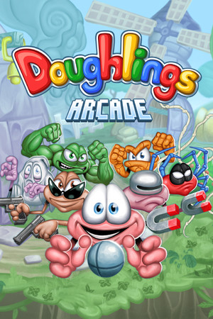 Doughlings: Arcade poster image on Steam Backlog
