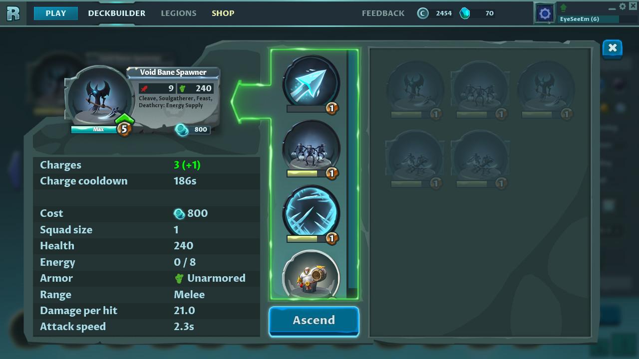 Rise of Legions ve službě Steam