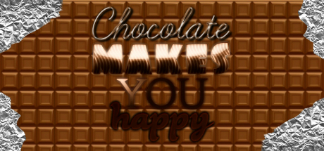 Chocolate makes you happy cover art