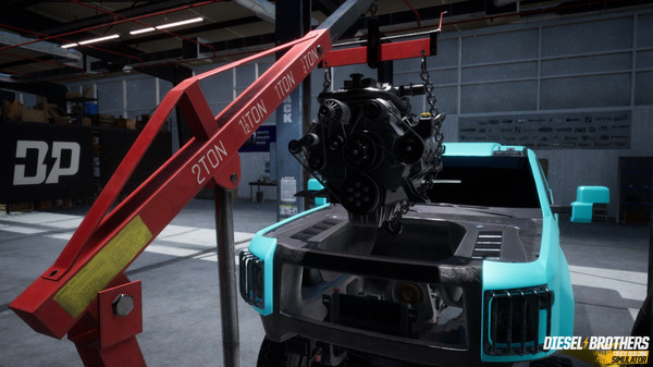 Capture d'écran n°5 du Jeu Diesel Brothers: Truck Building Simulator