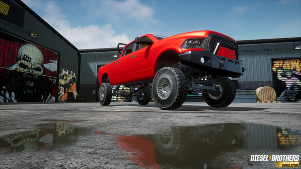 Capture d'écran n°4 du Jeu Diesel Brothers: Truck Building Simulator