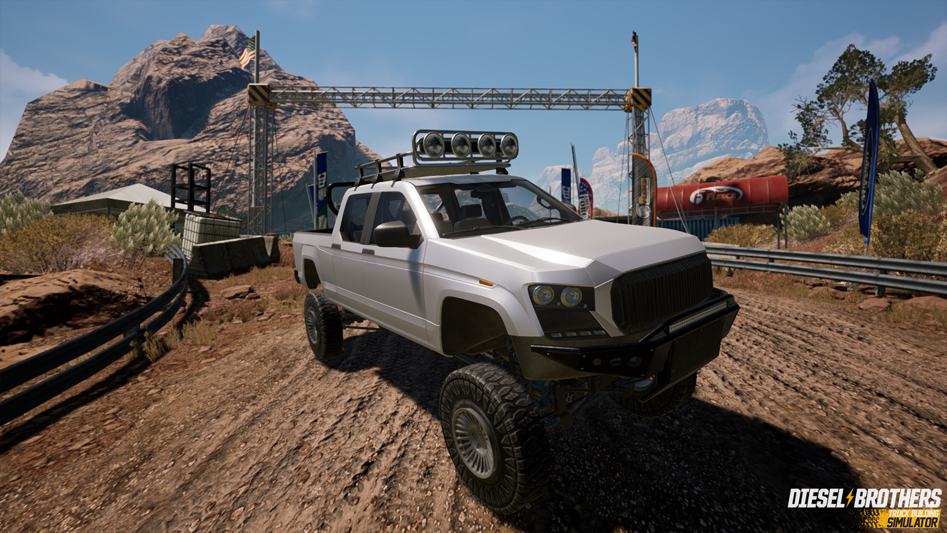Diesel Brothers Mega Ram >> Diesel Brothers Truck Building Simulator