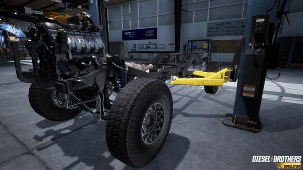 Capture d'écran n°6 du Jeu Diesel Brothers: Truck Building Simulator