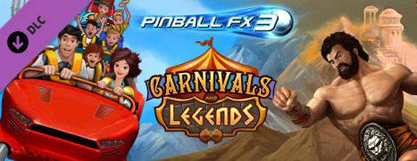 New DLC Available – Pinball FX3 – Carnivals and Legends, Free!